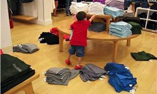 Essas Crianças Realmente Odeiam Ir às Compras