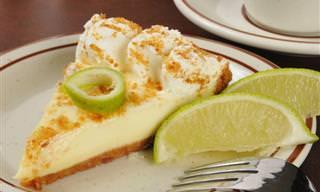 A Melhor Receita de Torta de Limão