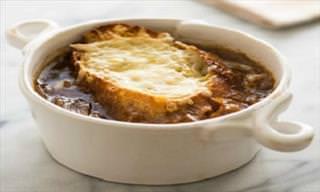 Receita Deliciosa: Sopa de Cebola Francesa Com Queijo