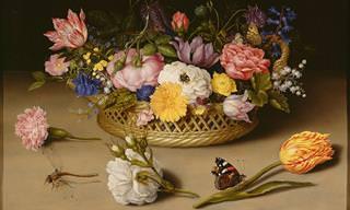 14 Pinturas de Flores Mundialmente Famosas