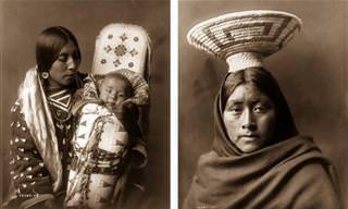 Imagens Incríveis do Século XX de Nativos Americanos!