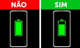 Não carregue seu telefone 100%. Veja por quê.