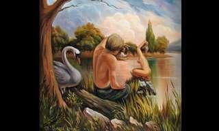 As Ilusões de Óptica de Oleg Shuplyak