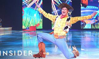 O que significa ser da troupe de Disney on Ice