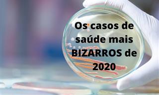 Os mais estranhos problemas de saúde de 2020