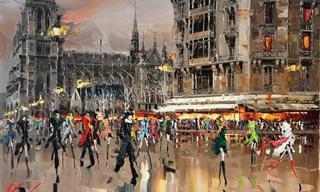 A Fina Arte do Pintor Kal Gajoum Vai te Encantar!