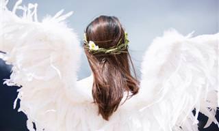 Piada: Um anjo da guarda pouco eficiente