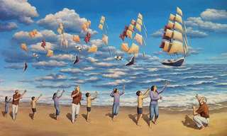 As Intrigantes Pinturas de Robert Gonsalves