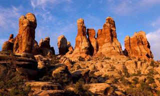 A beleza escultural do Parque Nacional de Canyonlands