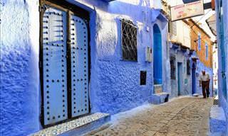 Uma cidade toda azul: Chefchaouen, no Marrocos
