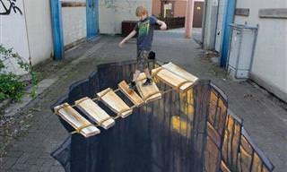 A Impressionante Arte em 3D de Nikolaj Arndt