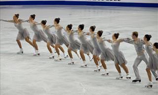 Esta é indiscutivelmente a mais bela dança no gelo!
