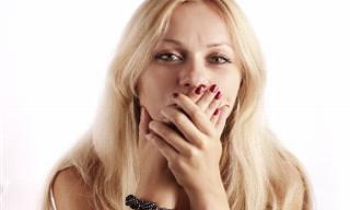 O que causa o mau hálito e como acabar com ele!