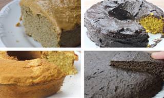 """4 Receitas de bolos """"fit"""" deliciosos"""