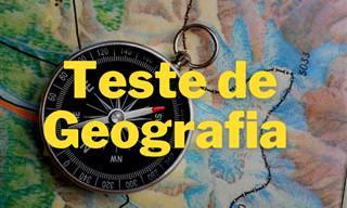 Faça nosso teste de geografia e prove seus conhecimentos