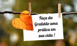 5 Maneiras práticas e fáceis de expressar gratidão