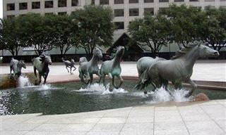 Esculturas Originais Que Encantam a Todos