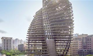 Conheça o Tao Zhu Yin Yuan, o Primeiro Edifício Ecológico do Planeta