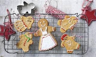 Receita de Natal: Biscoitos de Gengibre Decorados