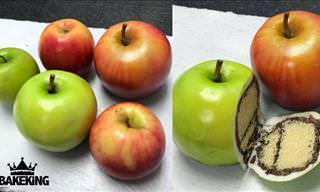 Ilusão de óptica também funciona com bolos artísticos