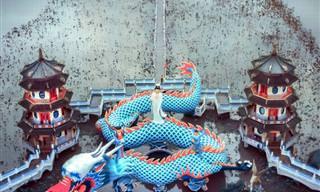 Incríveis fotos de templos asiáticos