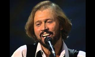"Os Bee Gees cantando ""How deep is your love"" em Las Vegas"