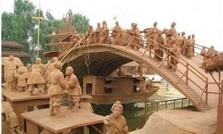 Clay Riverside Park: Um Povoado Inteiro de Argila!
