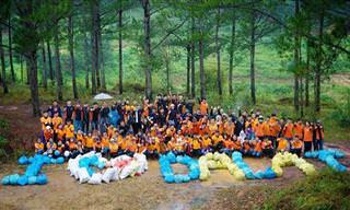 Fotos de um Projeto Social de Limpeza
