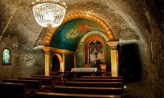 Visite a fascinante mina de sal de Wieliczka