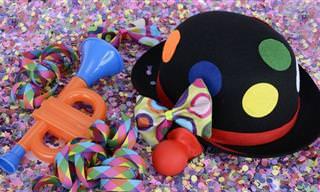Comprando a Fantasia de Carnaval