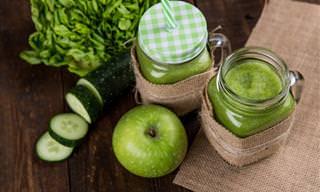 13 Deliciosas Receitas de Suco Detox