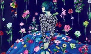 Aprecie a arte alegre e colorida de Lim, Eun Hee