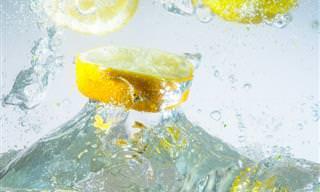 Oito Benefícios da Água com Limão