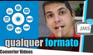 Agora ficou fácil converter formatos de vídeo!