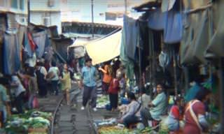 Você nunca viu um mercado de rua como esses!