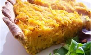 Aprenda a Fazer Essa Torta Deliciosa de Cenoura com Manjericão!