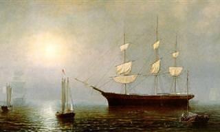 Uma homenagem à vida no mar  em lindas pinturas