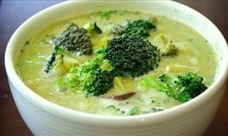 Prepare Essa Sopa Saborosa de Brócolis Que Ajuda no Combate ao Câncer