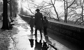 Belas Fotos Preto e Branco dos Anos 50 em Nova Iorque