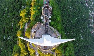 As Melhores Fotos Feitas por Drones em 2015