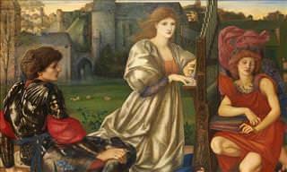 As gloriosas pinturas do movimento pré-rafaelita