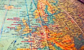 As fronteiras mais estranhas e complexas do mundo