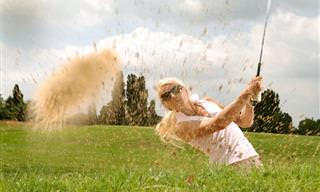 Piada do Dia: O Golfe e o Gênio da Lâmpada (Adulta)