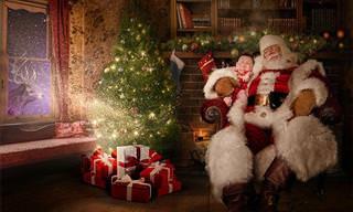 Fotos de Natal Mágicas Para Crianças em Hospitais