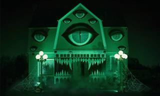 20 Casas Decoradas Para o Halloween