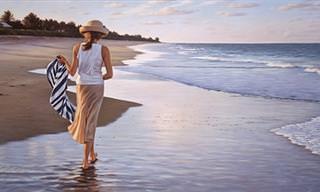 Pinturas Que Mostram a Atemporal Beleza Feminina