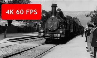 Assista a um vídeo de 1896 convertido em qualidade HD