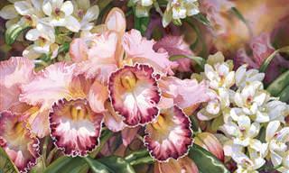 Conheça a Bela e Delicada Arte de Darryl Trott