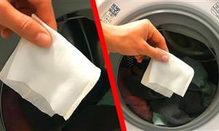 Dicas preciosas para lavar e secar suas roupas