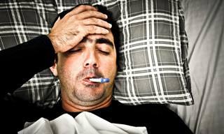 Homens Fazem Drama Quando Ficam Doentes?